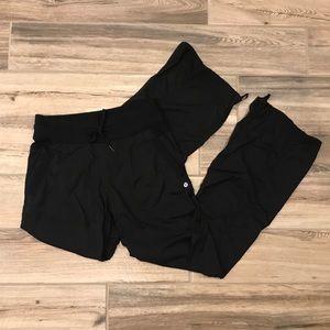 Lululemon Dance Studio Pant II, Black - Unlined